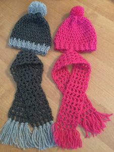 Crochet Hat And Scarf Pattern For American Girl Dolls Made Simple